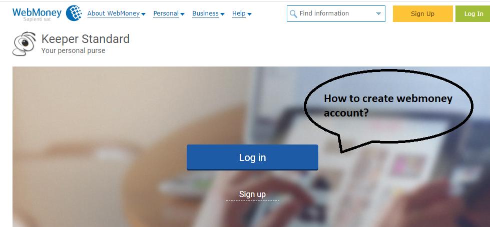 چگونه در سایت وب مانی ثبت نام کنیم؟