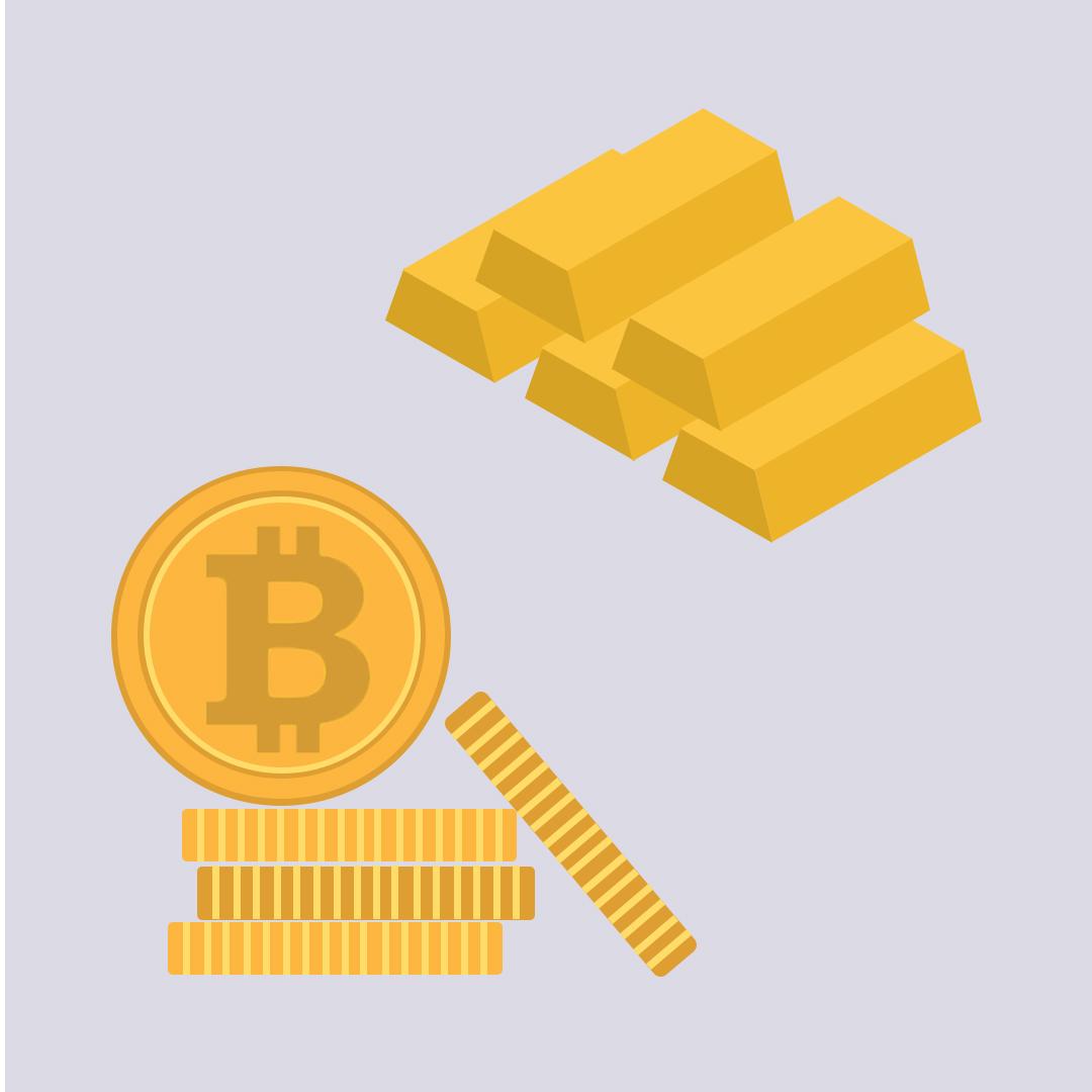 طلا یا بیت کوین ؟آینده با کدام است ؟