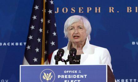 کمیته سنای آمریکا به اتفاق آرا به Yellen به عنوان وزیر خزانه داری رأی داد!